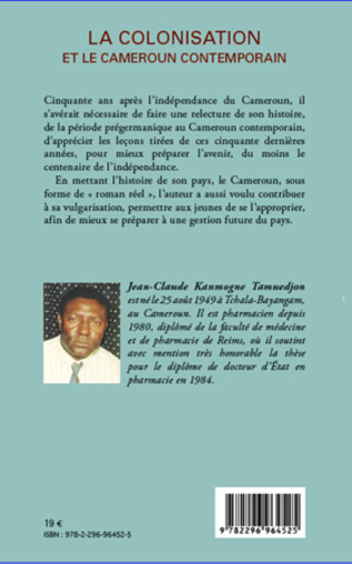 4eme La colonisation et le Cameroun contemporain