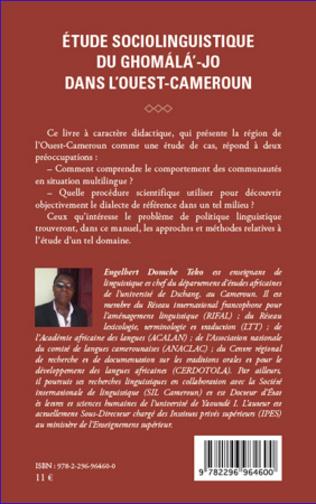 4eme Etude sociolinguistique du ghomala'-jo dans l'Ouest-Cameroun
