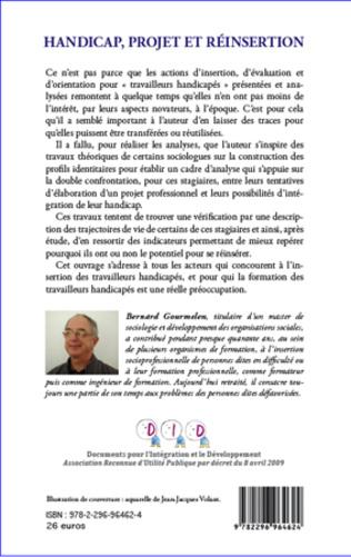 4eme Handicap, projet et réinsertion