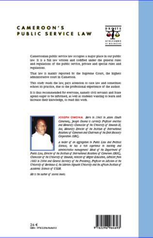 4eme Cameroon's public service law