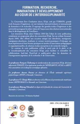4eme Formation, recherche, innovation et développement au coeur de l'interdisciplinarité