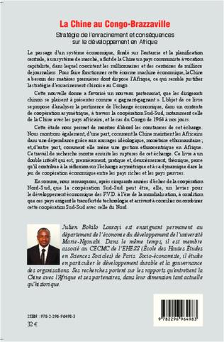 4eme La Chine au Congo-Brazzaville