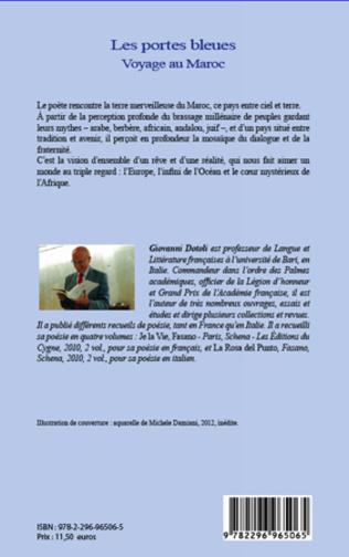 4eme Portes bleues Voyage au Maroc
