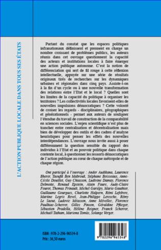 4eme Différenciation, incertitude, espace et politique :