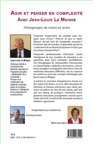 4eme Agir et penser en complexité avec Jean-Louis Le Moigne