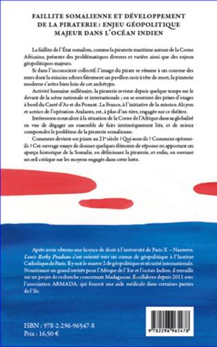 4eme Faillite somalienne et développement de la piraterie : enjeu géopolitique majeur dans l'Océan Indien