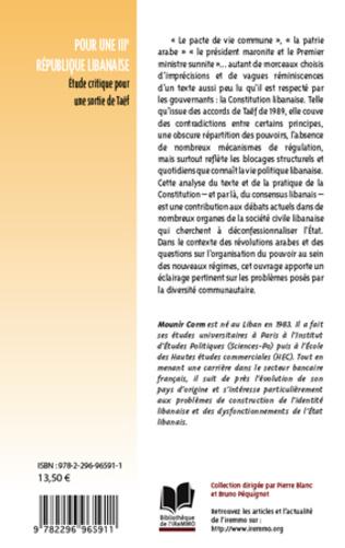 4eme Pour une IIIe République libanaise