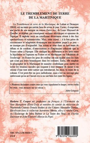 4eme Le tremblement de terre de la Martinique