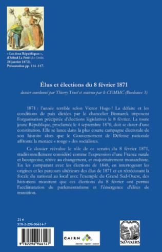 4eme Elus et élections du 8 février 1871