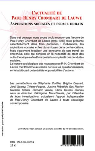 4eme L'actualité de Paul-Henry Chombart de Lauwe
