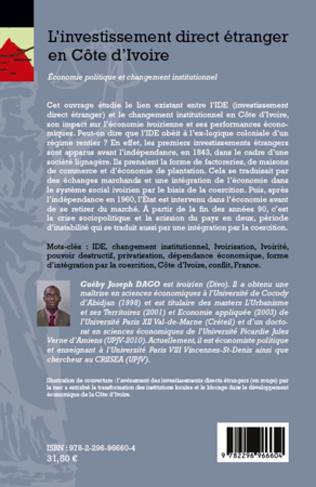 4eme L'investissement direct étranger en Côte d'Ivoire