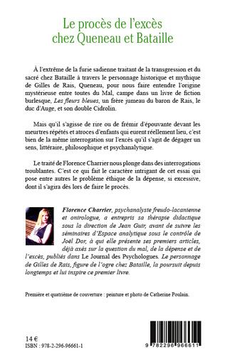 4eme Le procès de l'excès chez Queneau et Bataille
