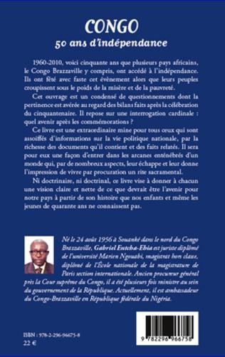 4eme Congo 50 ans d'indépendance