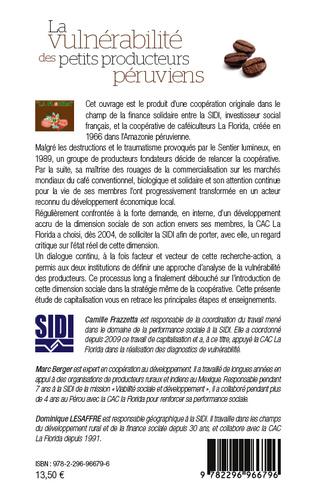 4eme Vulnérabilité des petits producteurs péruviens