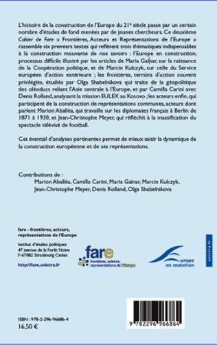 4eme LA MISE EN PLACE DU SERVICE EUROPEEN POUR L'ACTION EXTERIEURE : LE REGARD DELA POLOGNE SUR LA NAISSANCE DE LA DIPLOMATIE EUROPEENNE