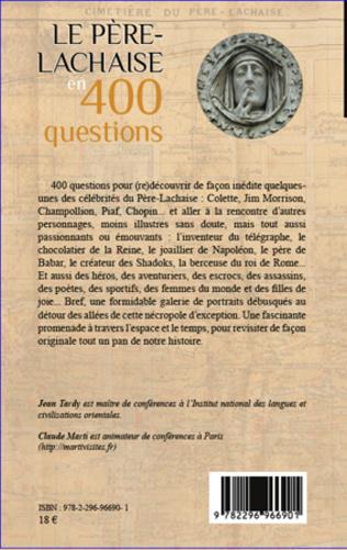 4eme Le Père-Lachaise en 400 questions