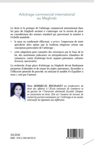 4eme Arbitrage commercial international au Maghreb
