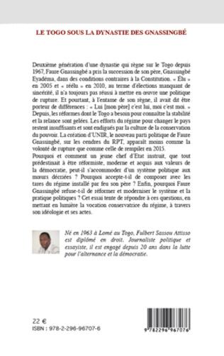 4eme Le Togo sous la dynastie des Gnassingbé