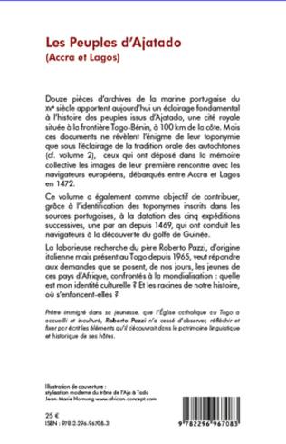 4eme Les Peuples d'Ajatado (Accra et Lagos) (Tome 1)