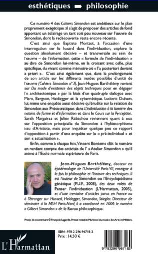 4eme Cahiers Simondon