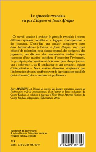4eme Le génocide rwandais vu par <em>L'Express</em> et <em>Jeune Afrique</em>