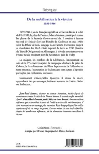 4eme De la mobilisation à la victoire (1939-1946)