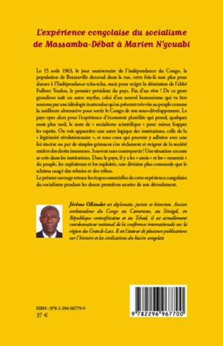 4eme L'expérience congolaise du socialisme de Massamba-Débat à Marien N'gouabi