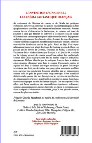 4eme L'invention d'un genre : le cinéma fantastique français