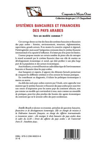 4eme Systèmes bancaires et financiers des pays arabes