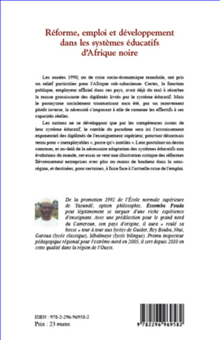 4eme Réforme, emploi et développement dans les systèmes éducatifs