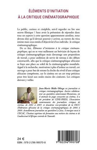 4eme Eléments d'initiation à la critique cinématographique