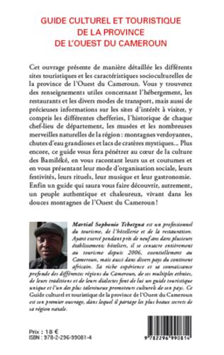 4eme Guide culturel et touristique de la province de l'Ouest du Cameroun