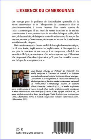 4eme L'essence du Camerounais