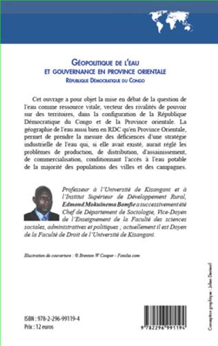 4eme Géopolitique de l'eau et gouvernance en province orientale