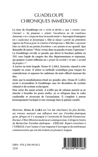 4eme Guadeloupe chroniques immédiates