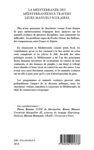 4eme La Méditerranée des Méditerranéens à travers leurs manuels scolaires