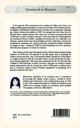 4eme Histoire de l'OSE (2e édition revue et augmentée)
