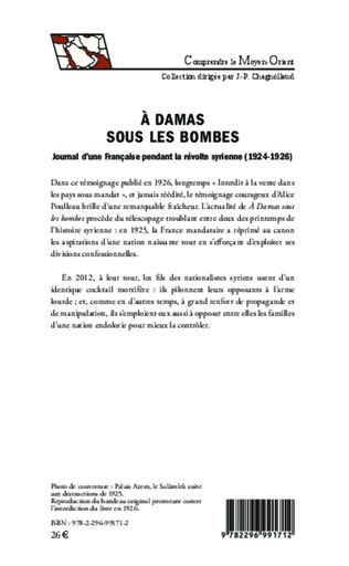 4eme A Damas sous les bombes