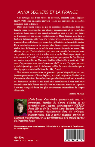 4eme Anna Seghers et la France