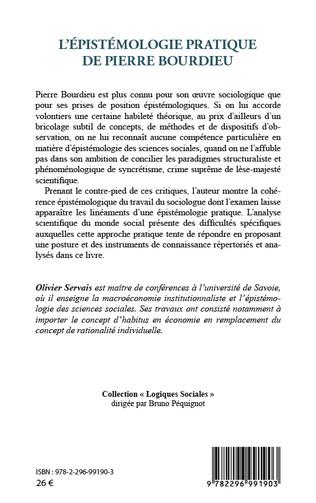 4eme L'épistémologie pratique de Pierre Bourdieu