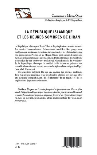 4eme La République islamique et les heures sombres de l'Iran