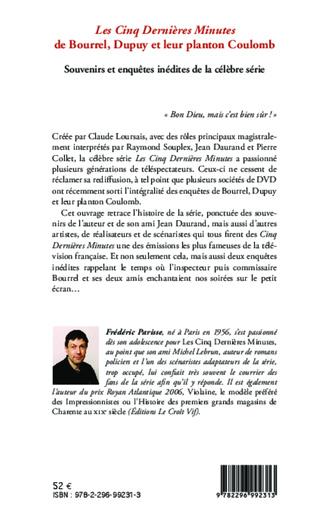 4eme <em>Les Cinq Dernières Minutes </em>de Bourrel, Dupuy et leur planton Coulomb