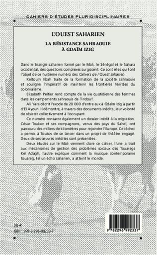 4eme La résistance sahraouie à Gdaïm Izig