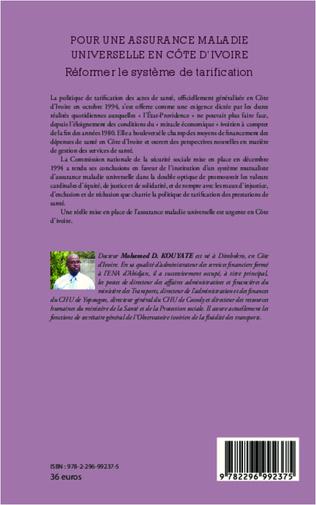 4eme Pour une assurance maladie universelle en Côte d'Ivoire