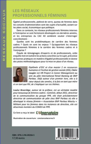 4eme Les réseaux professionnels féminins
