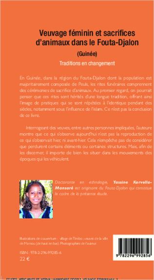 4eme Veuvage féminin et sacrifices d'animaux dans le Fouta-Djalon (Guinée)
