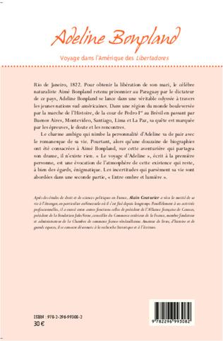 4eme Adeline Bonpland, voyage dans l'Amérique des <em>Libertadores</em>