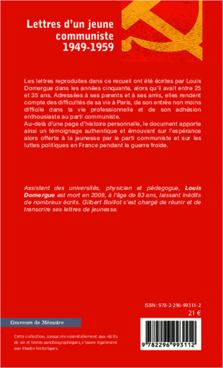 4eme Lettres d'un jeune communiste