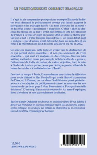 4eme Le politiquement correct français