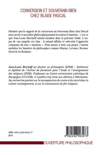 4eme Conversion et souverain bien chez Blaise Pascal